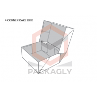 Custom_4_Corner_Cake_Boxes_Template_2