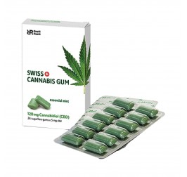 Custom CBD Chewing Gum Packaging Boxes