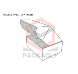 Custom Double Wall Tuck Front Template