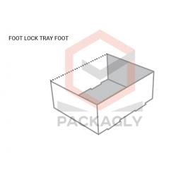 Custom Foot Lock Tray Box Templates