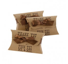 Custom Printed Pillow Packaging Boxes