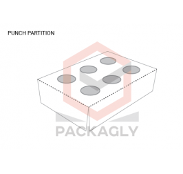 Custom Punch Partition Boxes