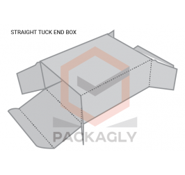 Custom Straight Tuck End Boxes Template