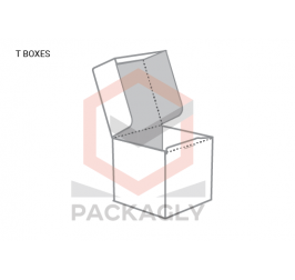Custom T- Style Packaging Boxes