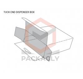 Custom Tuck End Dispenser Boxes