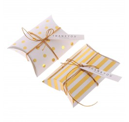 Custom Small Gift Pillow Packaging Boxes