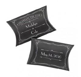 Custom Wedding Gift Pillow Packaging Boxes